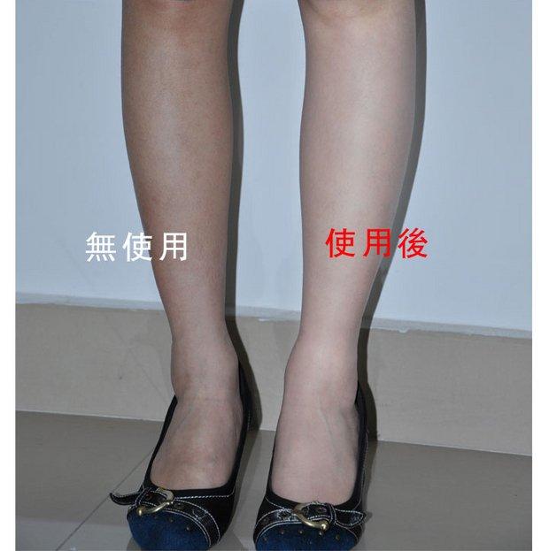 cách dùng tất phun chân - air stocking
