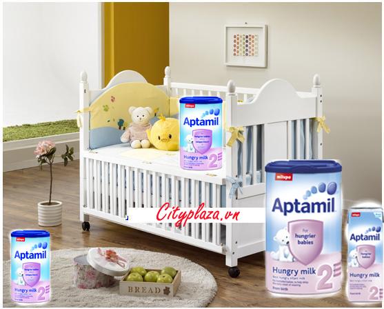 Sữa Aptamil 2 hộp 900g - Sản phẩm nhập khẩu từ Anh Quốc!