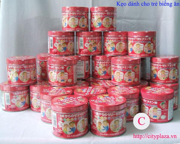 kẹo cho trẻ biếng ăn - kẹo vitamin - nhật bản