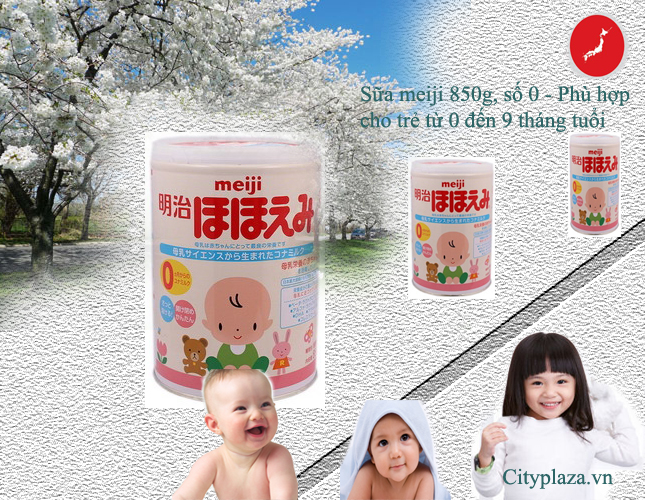 Sữa meiji 850 g- số 0 - xuất xứ từ nhật bản