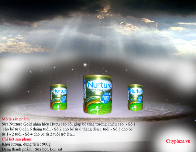 Nureture gold 4 - sản phẩm của australia