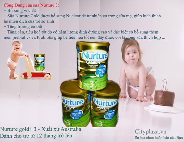 Sữa Nurture gold 3 - Sản phẩm của australia - Ảnh khác