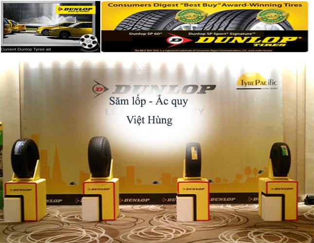 Lốp ô tô Dunlop - lốp dunlop - lop dunlop