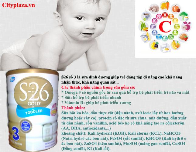 sữa s26 gold 3 900g - Sản phẩm của Australia