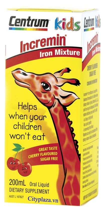 Sirô_Incremin_Iron_Mixture - Sản phẩm nhập khẩu từ Australia